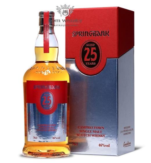 Springbank 25-letni Bottled 2015 / 46% / 0,7l