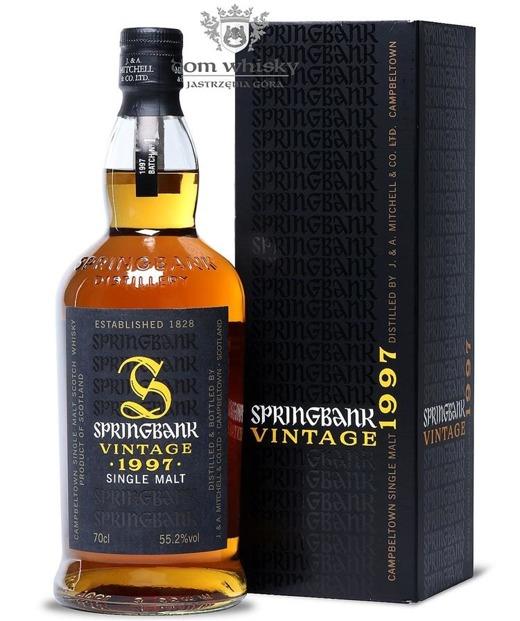 Springbank Vintage 1997 Batch #1 / 55,2% / 0,7l