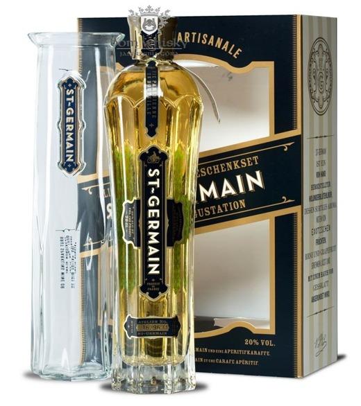 St. Germain Elderflower Liqueur (Francja) / zestaw / 20% / 0,7l
