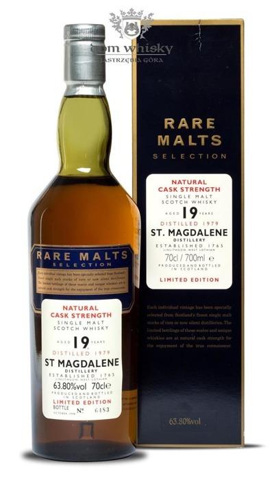 St Magdalene 19-letni D.1979 B.1998 Rare Malts / 63,8% / 0,7l