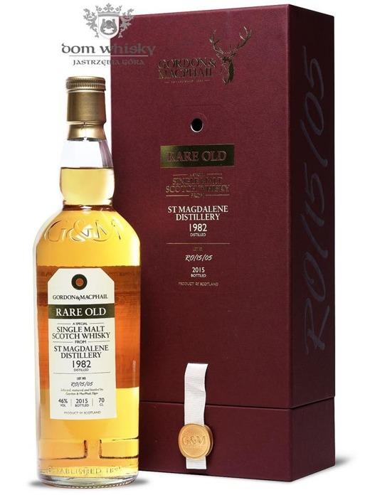 St Magdalene 1982 (Bottled 2015) Rare Old, Gordon & MacPhail / 46%/ 0,7l