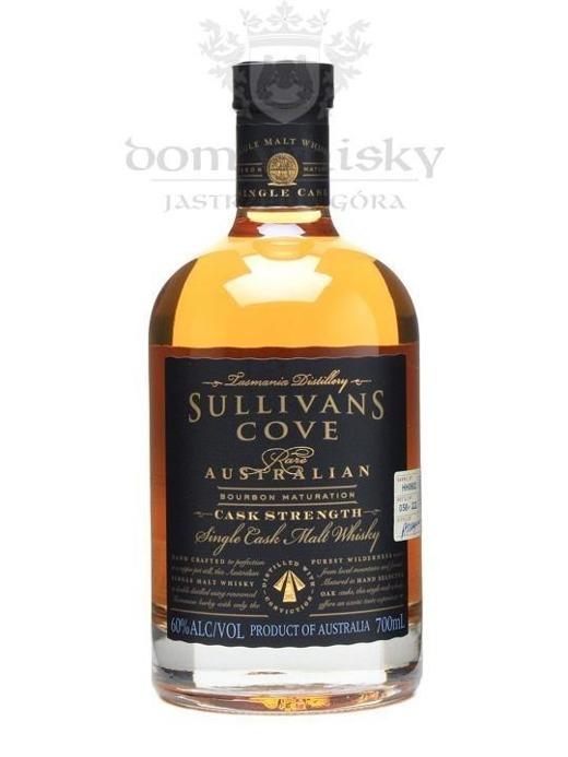 Sullivans Cove Bourbon Cask (Tasmania) / 60% / 0,7 l