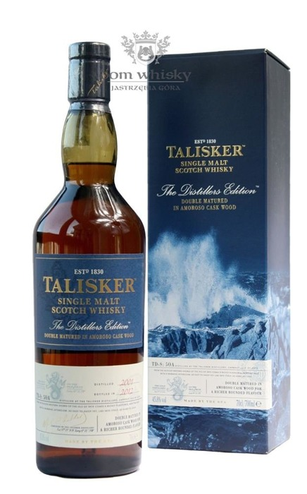 Talisker Double Matured Amoroso Cask 2012 (Skye) / 45,8% / 0,7l