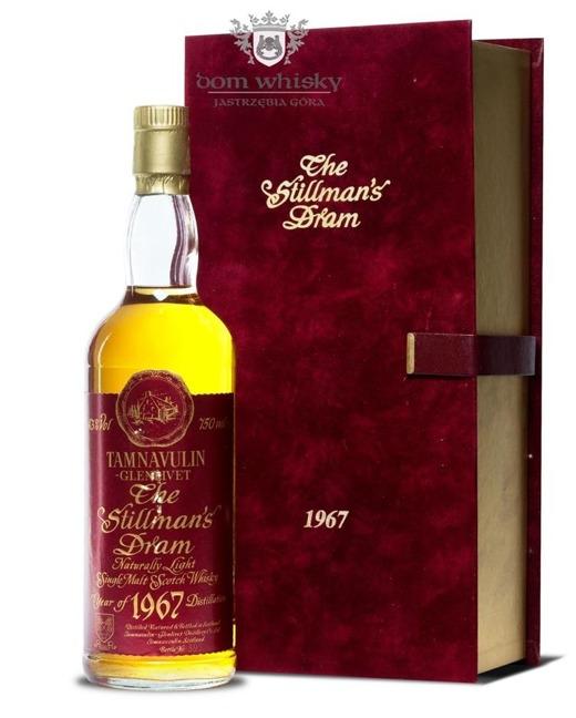 Tamnavulin 19 letni D.1967 B.1986 The Stillman's Dram /43%/0,75l