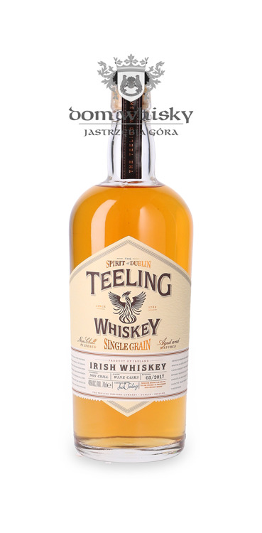 Teeling Irish Whiskey Single Grain Wine Cask / 46% / 0,7l