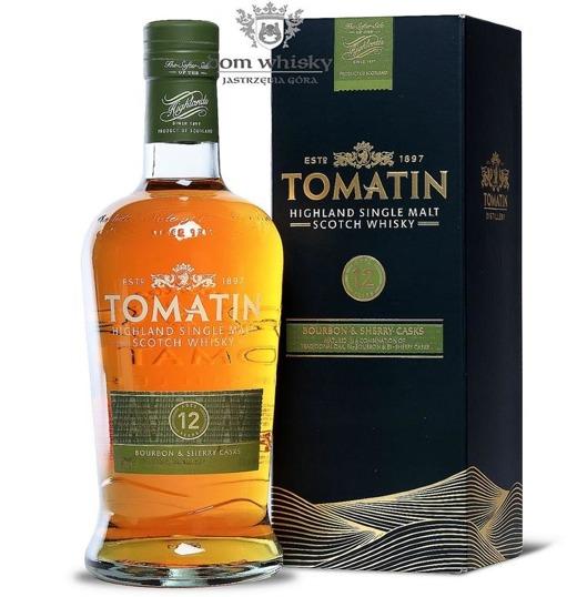 Tomatin 12-letni Bourbon & Sherry Cask / 43% / 0,7l