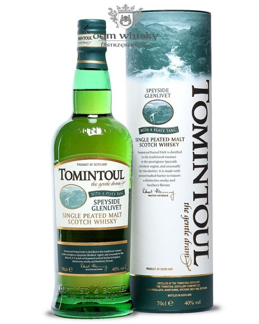 Tomintoul The Gentle Dream Peaty Tang / 40% / 0,7l