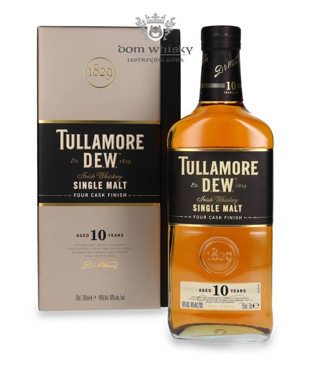 Tullamore Dew 10 letni / 40% / 0,7l