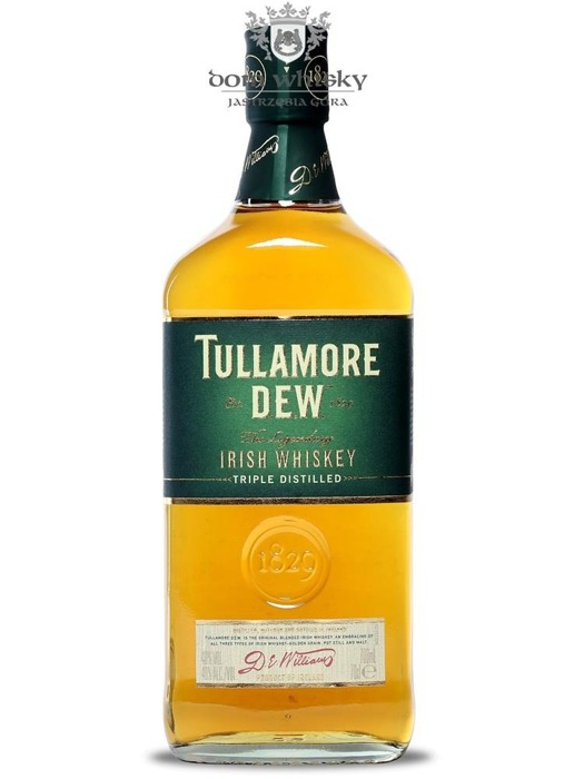 Tullamore Dew Irish Whiskey / 40% / 0,7l