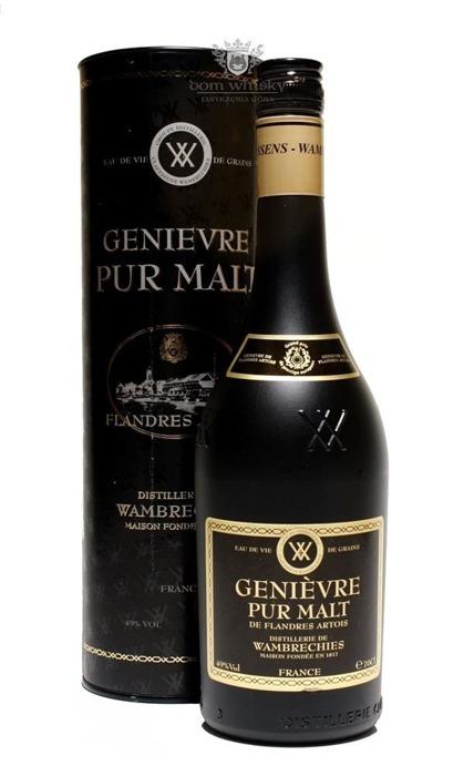 Wambrechies Genievre Pur Malt (Francja) / 49% / 0,7l