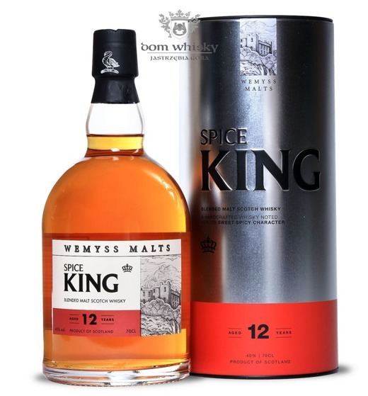 Wemyss Spice King Blended Malt, 12-letni / 46% / 0,7l
