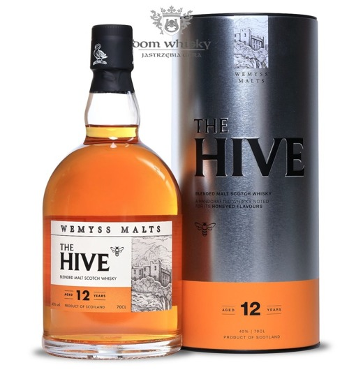 Wemyss The Hive Blended Malt, 12-letni / 46% / 0,7l