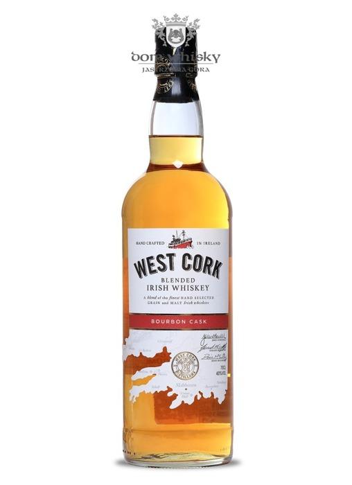 West Cork Blended Irish Whiskey Bourbon Cask / 40% / 0,7l