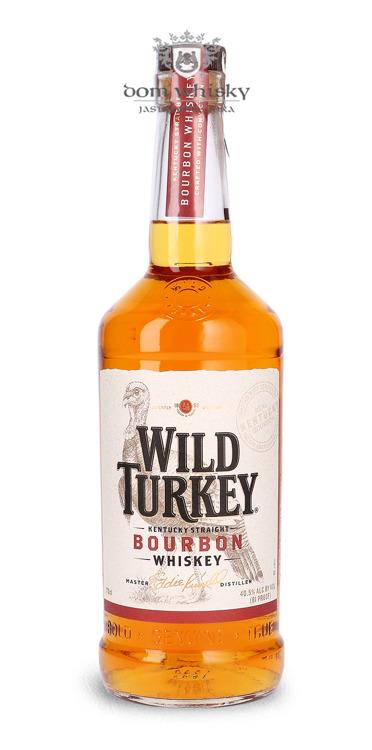 Wild Turkey 81 Kentucky Straight Bourbon Whiskey / 40,5% / 0,7l