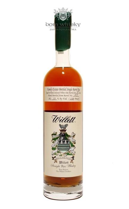 Willett Straight Rye Kentucky Whiskey 4 letni / 55% / 0,75l