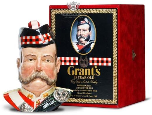 William Grant's 25 letni Ceramic Character Jug / 43% / 0,75l