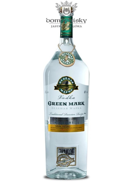Wódka Green Mark (Rosja) / 40% / 1,0l