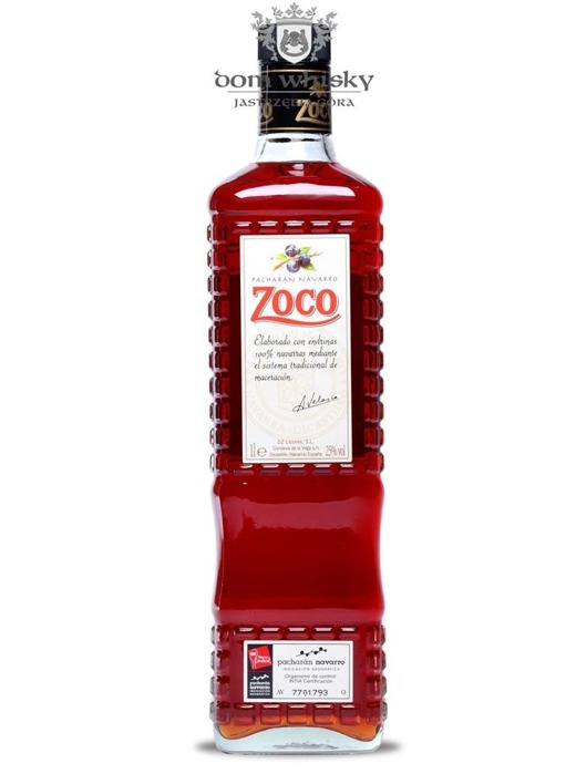 Zoco Pacharan Navarro Liqueur / 25% / 1,0l