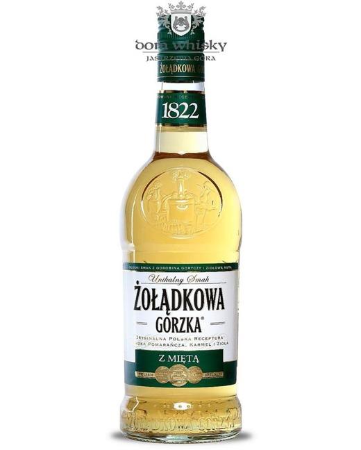 Żołądkowa Gorzka z Miętą / 34% / 0,7l